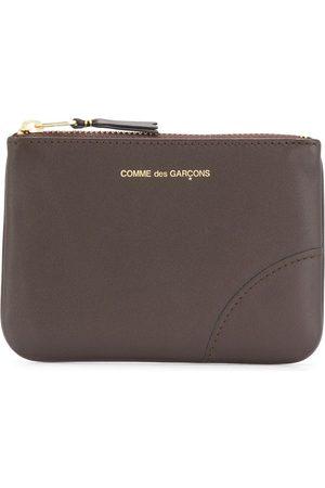 Comme des Garçons Logo-detail zip purse