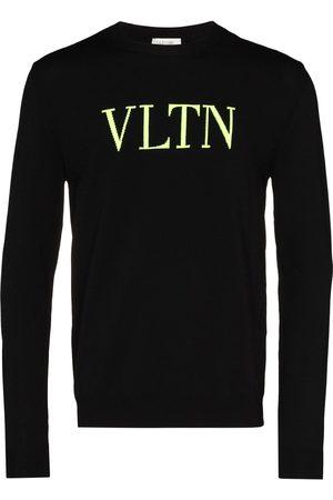 VALENTINO VLTN intarsia-knit jumper