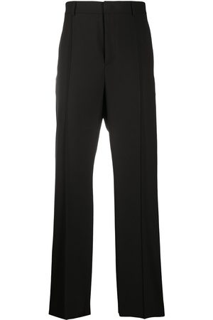 VALENTINO Straight-leg cotton trousers