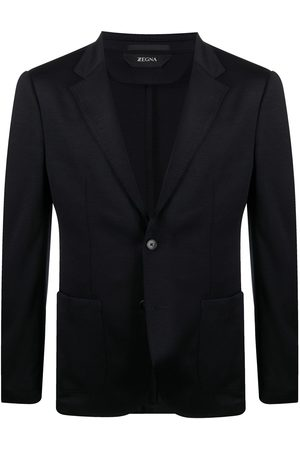 Z Zegna Fitted single-breasted blazer