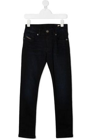 Diesel Boys Straight - Straight-leg dark wash jeans