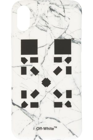 OFF-WHITE X Vancouver Marble Arrows iPhone X cover