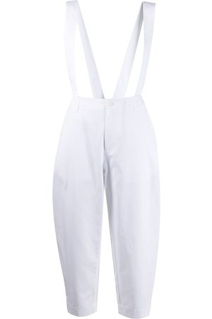 JEJIA Cropped trousers with suspenders