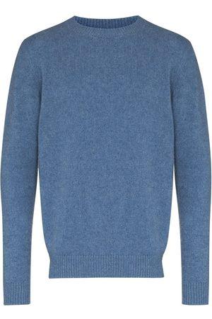 THE ELDER STATESMAN Men Sweatshirts - Crew-neck cashmere jumper