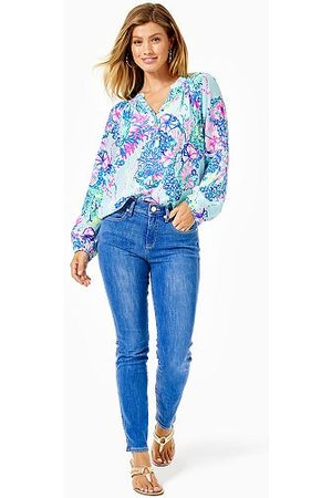"""Lilly Pulitzer 29"""" South Ocean High Rise Skinny Ankle Pant"""