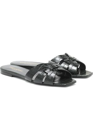 Saint Laurent Tribute Nu Pieds 05 leather sandals