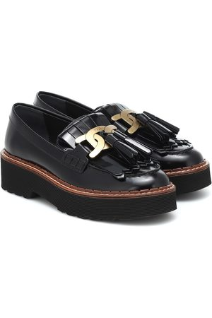 Tod's Gommini patent leather loafers