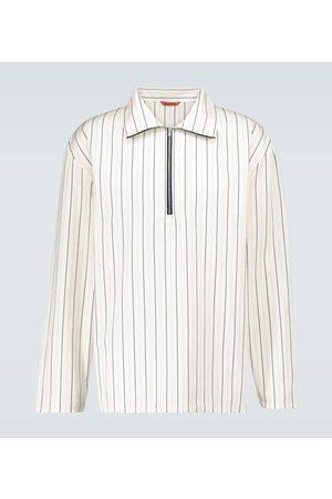BARENA Taparo Meriga half-zipped shirt