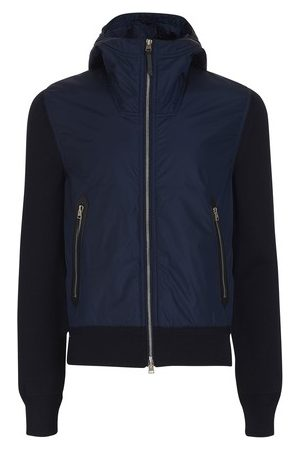 Tom Ford Nylon front hooded knitwear