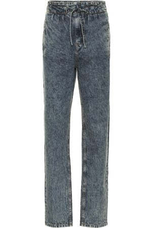 Isabel Marant Uduard high-rise straight jeans