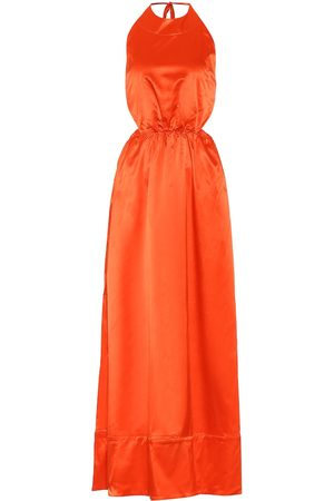 Staud Sidney sateen maxi dress
