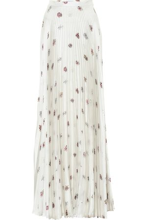 GABRIELA HEARST Blight floral silk maxi skirt
