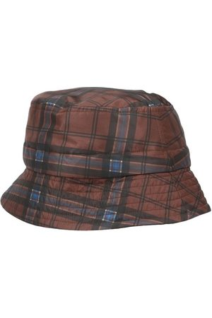 DRIES VAN NOTEN Check bucket hat