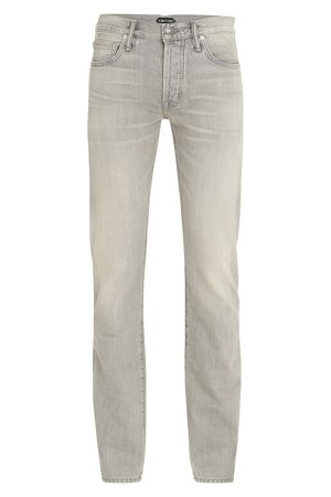 Tom Ford Men Straight Leg Pants - Japanese selvedge straight denim pants