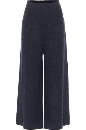Stella McCartney Ribbed wool and alpaca pants