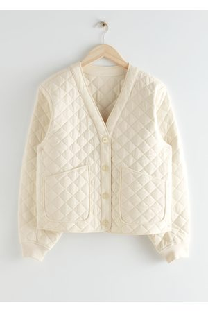 & OTHER STORIES Boxy Quilted Jacket