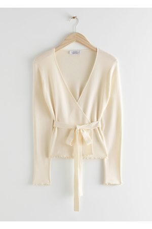 & OTHER STORIES Fitted Wrap Cardigan