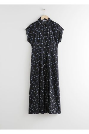 & OTHER STORIES Relaxed Midi Shirt Dress