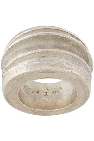 PARTS OF FOUR Foldform crescent ring - Metallic