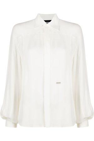 Dsquared2 Silk button-up shirt