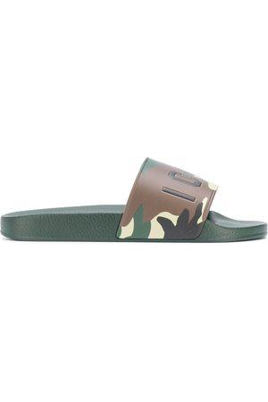 Dsquared2 Men Sandals - Icon camouflage-print slides
