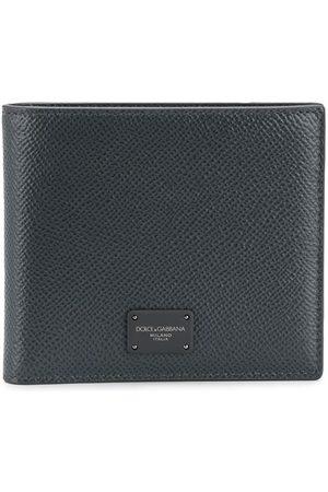 Dolce & Gabbana Logo-plaque billfold wallet - Grey