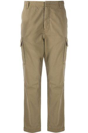 Paul Smith Straight-leg cotton cargo trousers