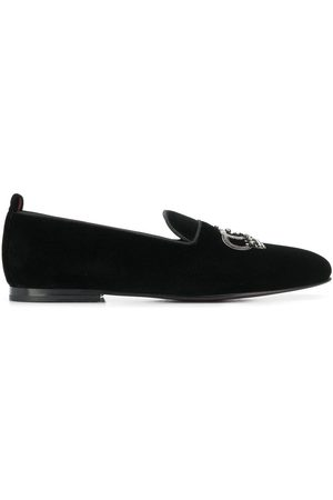 Dolce & Gabbana Crown embroidery loafers