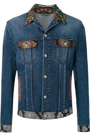 Dolce & Gabbana Contrast-trim denim jacket