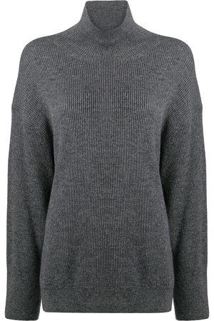 Nanushka Pippa ribbed-knit jumper - Grey