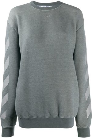 OFF-WHITE Arrows crew-neck sweatshirt - Grey