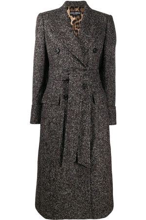 Dolce & Gabbana Double-breasted midi coat
