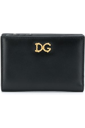 Dolce & Gabbana Small Baroque logo-plaque wallet