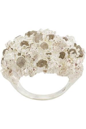 NIZA HUANG Women Rings - Quartz-embellished ring