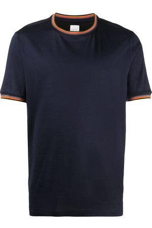 Paul Smith Contrast-trim cotton T-shirt
