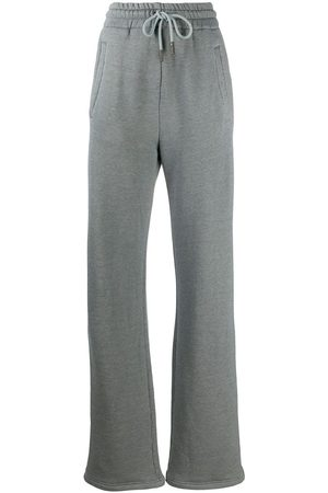 OFF-WHITE Diag wide-leg track pants - Grey