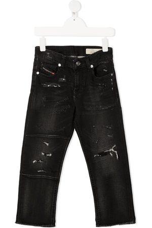 Diesel Boys Skinny - Distressed skinny-fit jeans