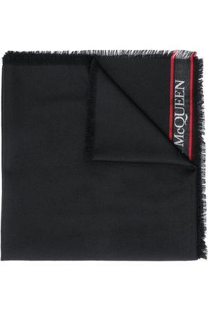 Alexander McQueen Jacquard logo scarf