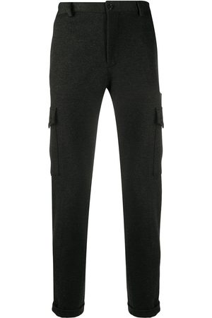 Dolce & Gabbana Straight leg trousers with pockets - Grey
