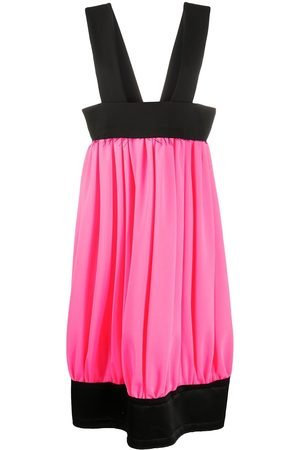 Comme Des Garçons Suspender-strap pleated skirt