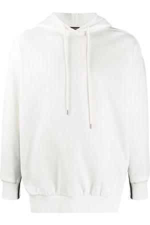 Stella McCartney Hoodies - Logo-tape regular-fit hoodie