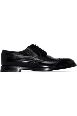 Dolce & Gabbana Brushed leather brogues