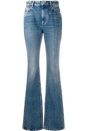 The Attico High-waisted bootcut jeans