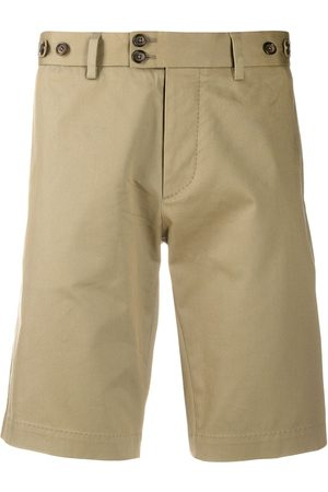 Dolce & Gabbana Slim-fit tailored shorts - Neutrals