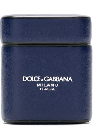 Dolce & Gabbana Men Phones Cases - AirPods calf leather case