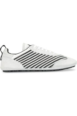 Dolce & Gabbana Striped woven low-top sneakers