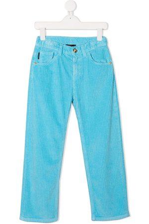 VERSACE Boys Straight - Corduroy straight-leg jeans