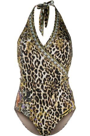Camilla Leopard print one-piece swimsuit