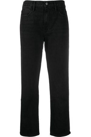 Frame Women Straight - Mid-rise straight-leg jeans