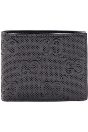 Gucci Logo-embossed Leather Bifold Wallet - Mens